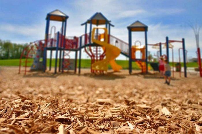 EWF Engineered Wood Fiber Playground Safety Surfacing