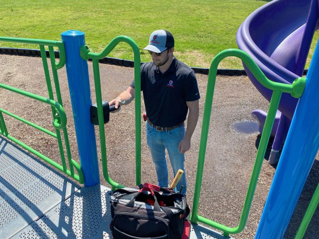 Commercial Playground Equipment Inspection