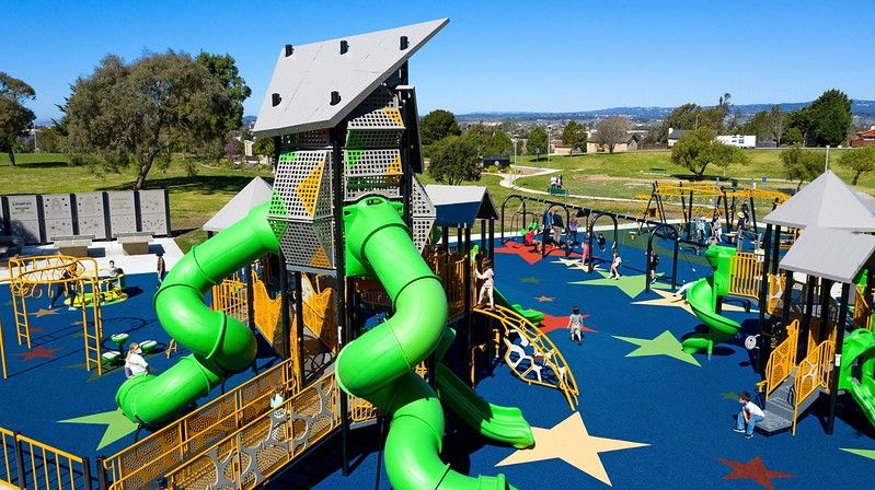 How Towers can Take Playgrounds to a Whole New Level?
