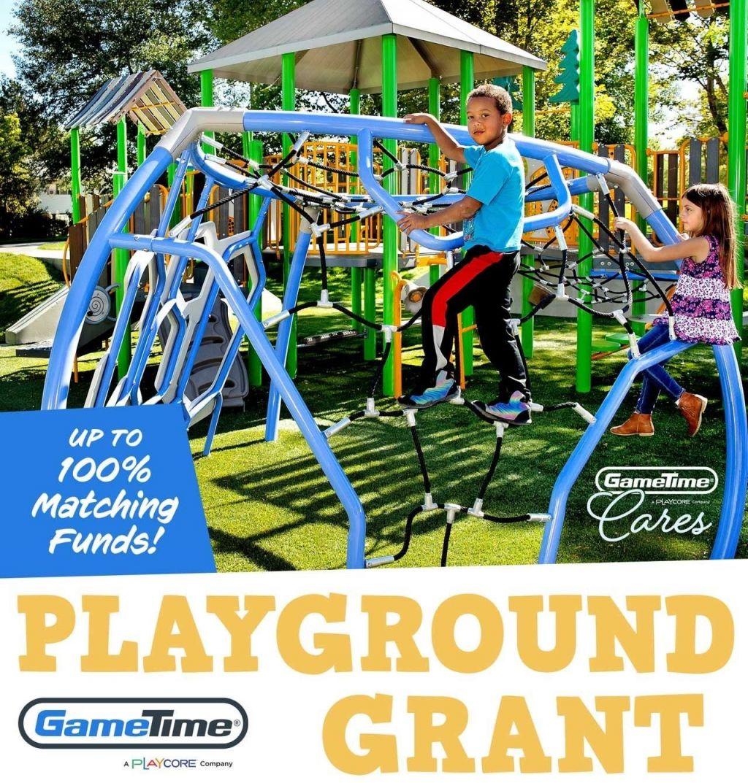 GameTime Playground Grants
