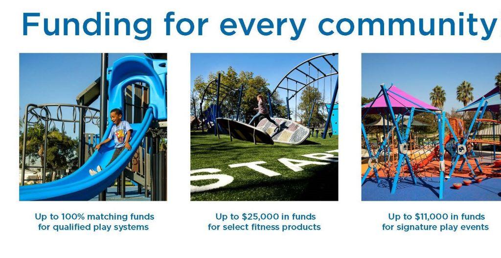 GameTime Playground Funding