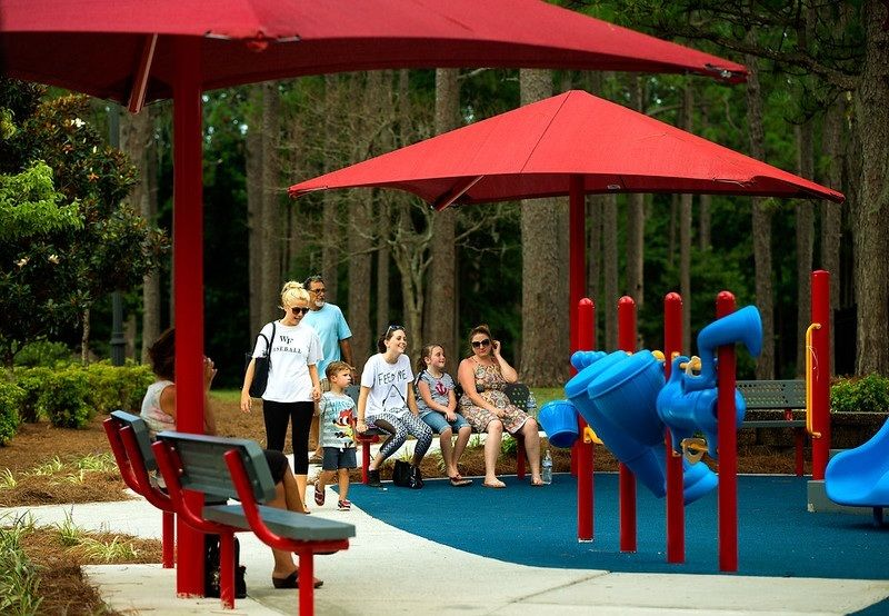 Top Amenities for Park Playgrounds