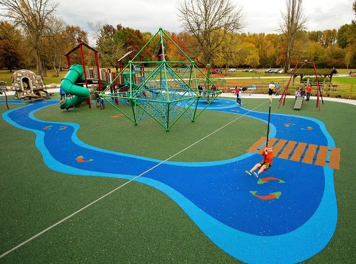 Playground Surfacing Company - Poured-in-Place Rubber