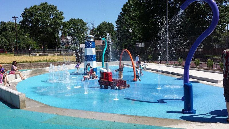 Splash Pad Spray Equipment