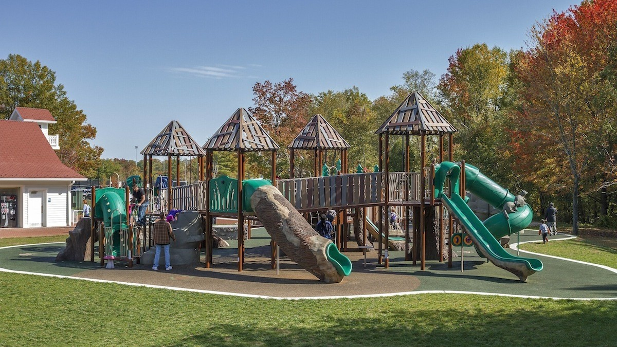 Big Backyard large inclusive themed playgrounds -… | cunningham recreation