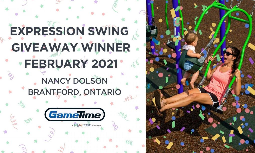 GameTime Expression Swing Giveaway - Canada February 2021