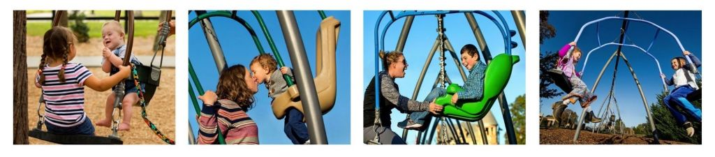 Expression Swing by GameTime is available four styles