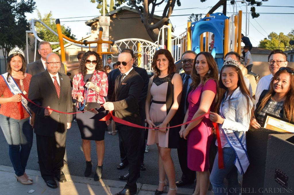 GameTime playground grants help bring a new playground to Bell Gardens, CA.